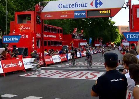 Vuelta Ciclista a España con Carrefour
