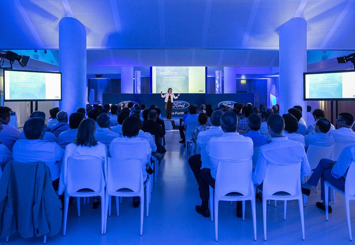 Grupo Glow organizacion de eventos - Ford convencion de directivos Marbella